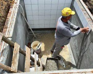 Revestimento cisterna